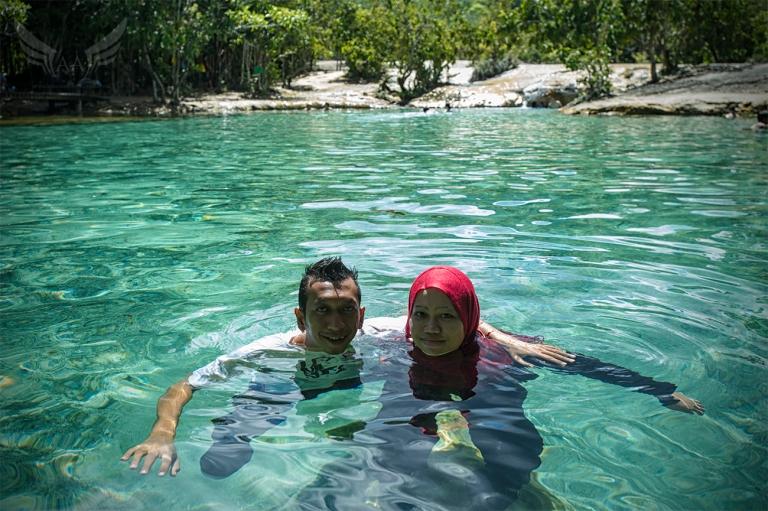 Kolam Utama Emerald Pool