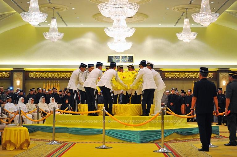 Upacara Pemakaman Jenazah Almarhum Yang Teramat Mulia Tunku Bendahara Kedah