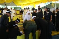 Jenazah Almarhum Sultan Kedah, Sultan Abdul Halim Mu'adzam Shah di dimakamkan di Makam Diraja Langgar, Kedah
